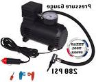 Portable Mini Air Compressor 12V Car Cigarette Lighter Tire