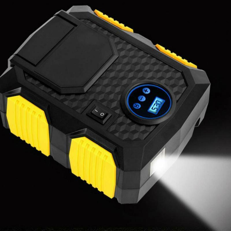Portable Tire Inflator Car Air Pump Auto 12V PSI