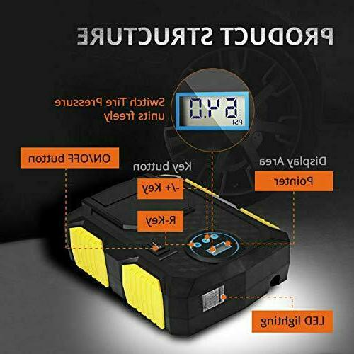 Portable Tire Air Auto PSI