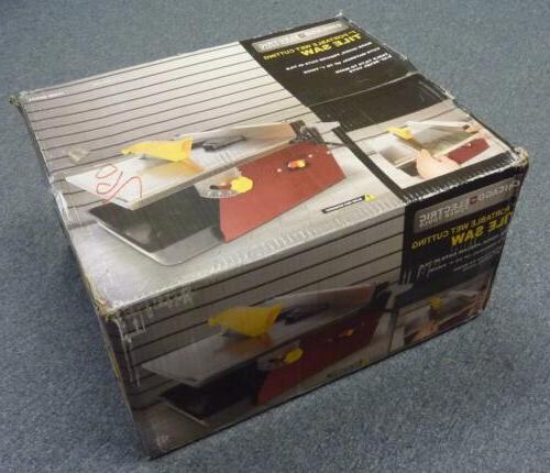 """CHICAGO ELECTRIC Power Tools 7"""" Portable Wet Cutting Tile Sa"""