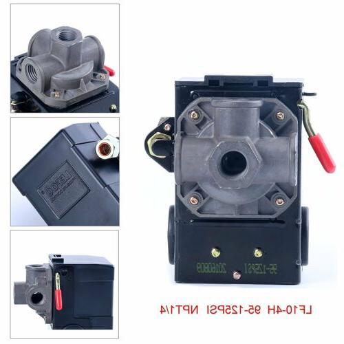 Lefoo Quality Air Compressor Pressure Switch Control 95-125P