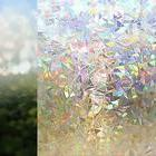 Privacy Window Glass Cover Film No Glue Static Cling Decorat
