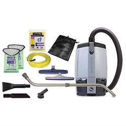 ProTeam ProVac FS 6 HEPA Commercial Backpack Vacuum with Sma