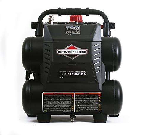 Briggs 4.5-Gallon Quiet Power Air Compressor 074045-00