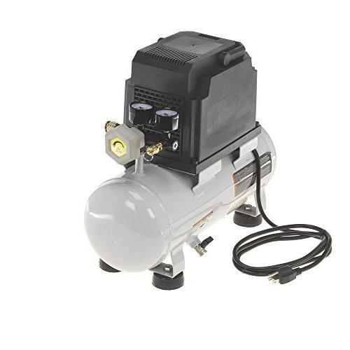 Quipall 2-.33 Compressor, 1/3 gallon,Steel Tank