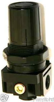 """REG0250M Air Compressor Regulator  ROLAIR  1/4""""  4 Port Regu"""