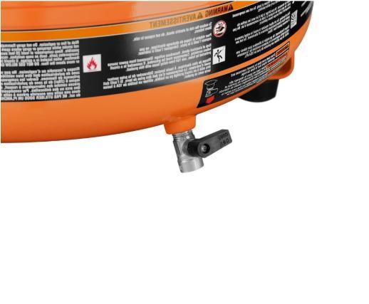 Ridgid Electric Compressor Gal. Pressure