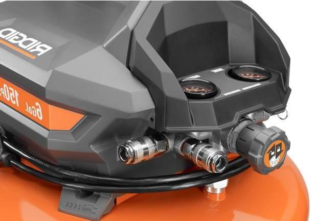 Ridgid Pancake Compressor 6 Pressure