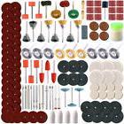 350PCS Rotary Tool Accessory Set - Fits Dremel - Grinding, S