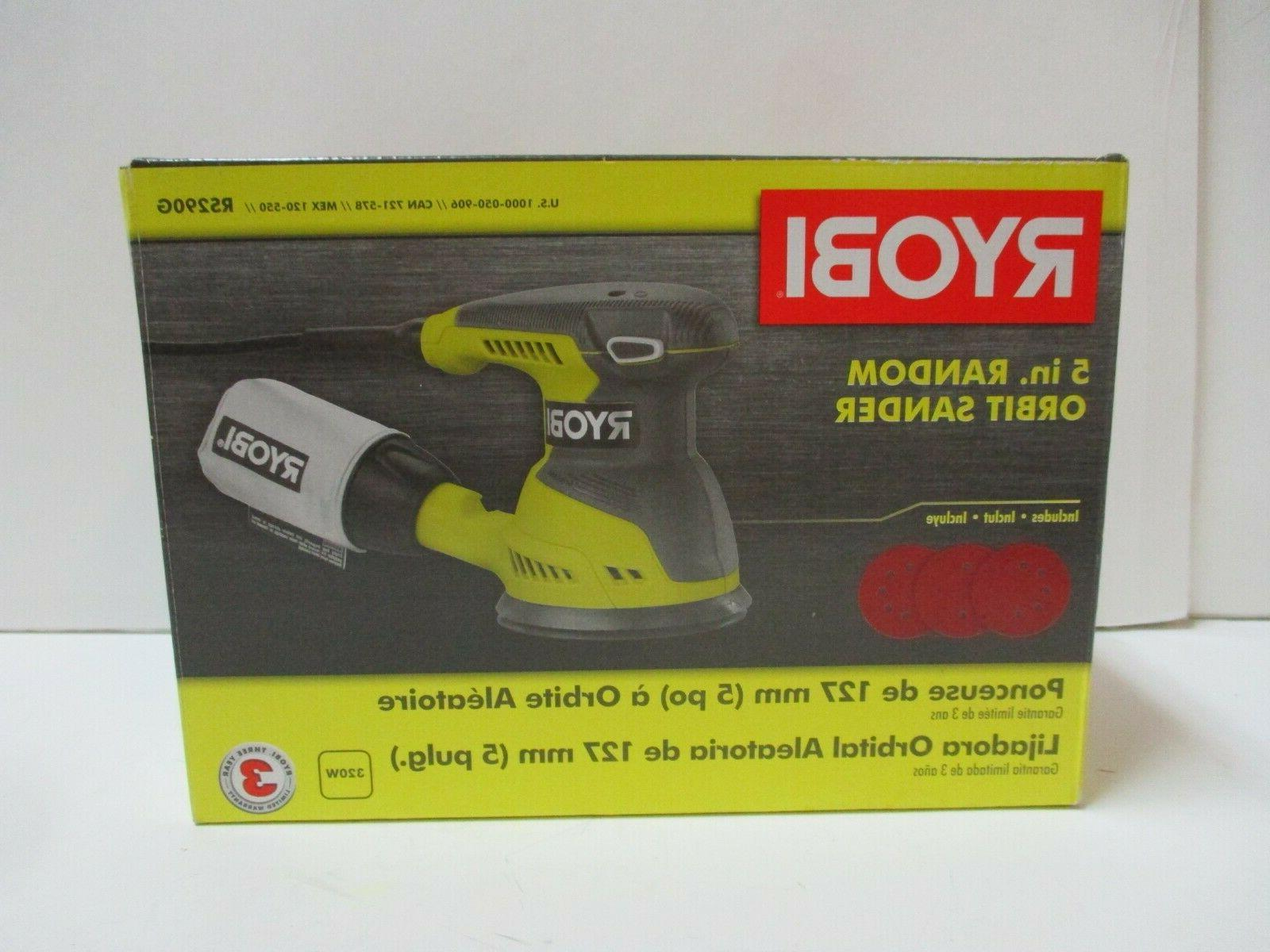 Ryobi RS290G 2.6 Amp 12,500 OPM Single Speed 5 Inch Hook and