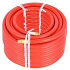"100Ft 3/8"" Rubber Air Hose 300 PSI 1/4 Inch NPT Brass End Fo"