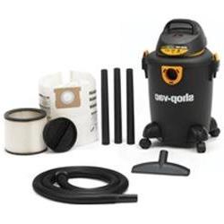 Shop Vac 5983000 6 Gallon Quiet Deluxe Wet & Dry Vacuum Clea