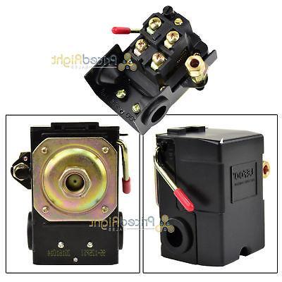 Single Port Air Compressor Pressure Switch Control Valve 95-