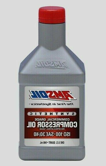 synthetic air compressor oil iso 100 30