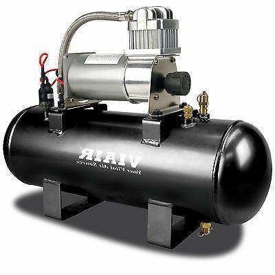 Viair 150 PSI 2-Gallon Tank 12V 280C Pewter Air Compressor S