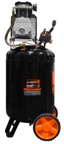 Portable Air 120v Tank PSI Vertical Oil-Lubricated