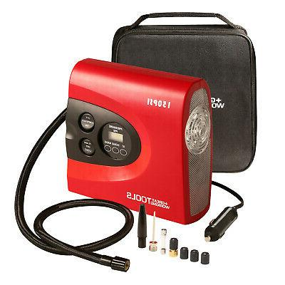 tire inflator air compressor pump digital automatic