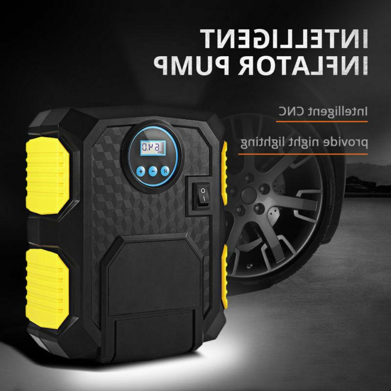 tire inflator car air compressor electric pump