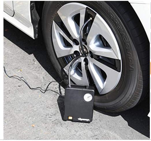 Tire Inflator Pump Compressor Auto