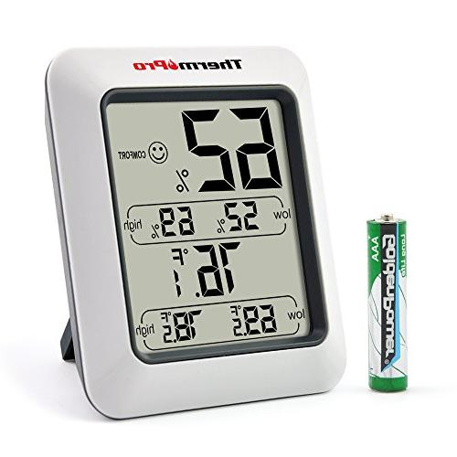 tp50 hygrometer indoor thermometer humidity
