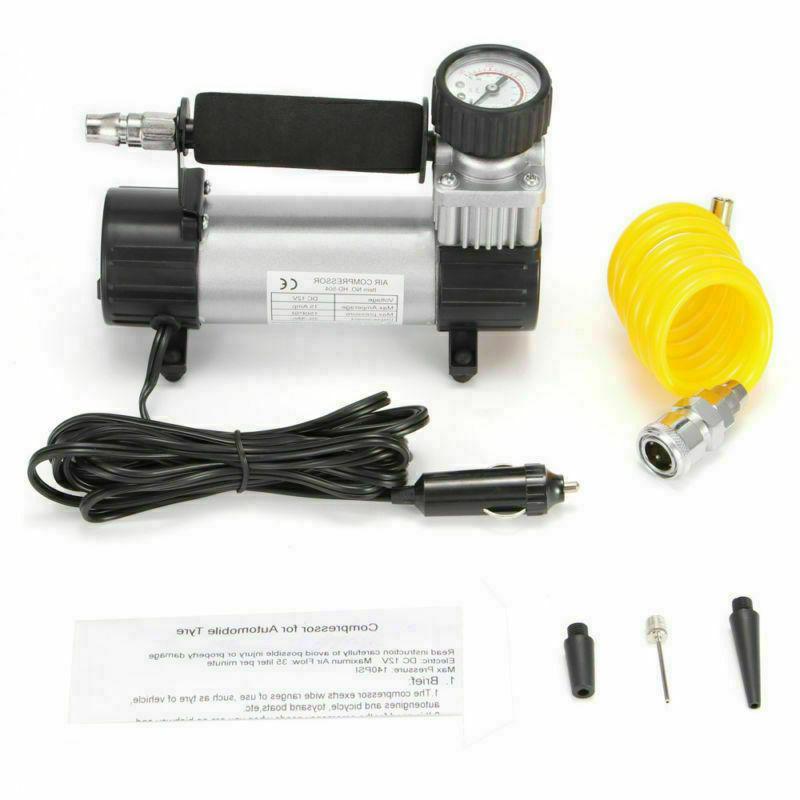 US Portable 12V Compressor 150PSI Car Auto Inflator