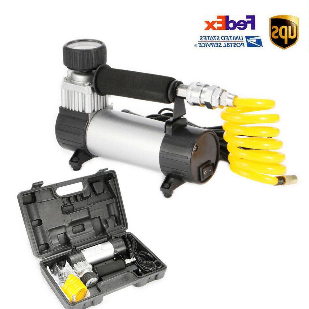 us portable heavy duty 12v air compressor