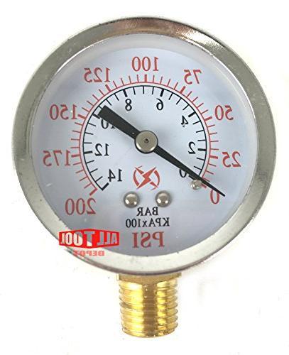 usa air pressure gauge side
