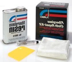 USC Premium Fiberglass Cloth & Resin Repair Kit