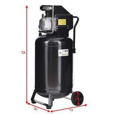 21 Gallon Vertical Air Iron Motor New