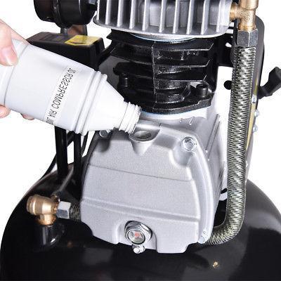 21 Gallon 125 Vertical Compressor Iron New