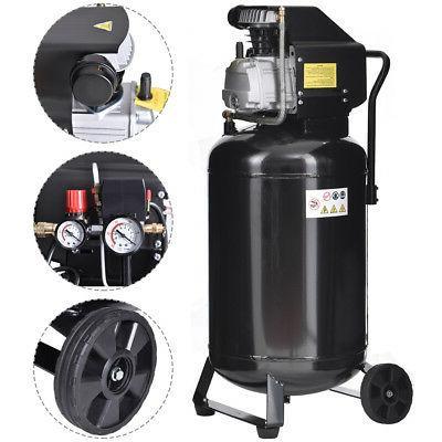 21 Gallon 125 PSI Vertical Air Compressor Cast Iron 2.5HP Mo
