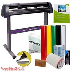 Vinyl Cutter USCutter MH 34in BUNDLE Sign Making Kit w Desig