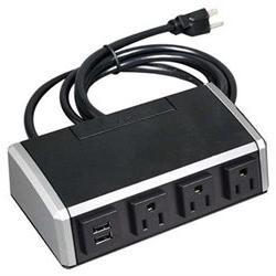C2G Wiremold Desktop Power Center Work Surface Portal - Tabl