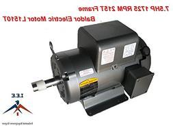 L1510T 7.5 HP, 1725 RPM New BALDOR ELECTRIC MOTOR Air Compre