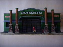 "Lemax Christmas Village Porcelain Lighted 4"" x 9"" Lumber & H"