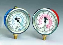 Liquid Filled High Side Gauge 2 1/2 0 to 500 PSI R12/R22/R50