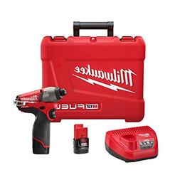 "M12 Fuel 1/4"" Hex Impact Driver with 2 Batteries"