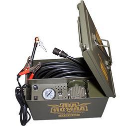 Air Armor M240 12 Volt, Military Inspired Portable 12v Air C