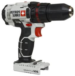 "Porter Cable PCC601 PCC601B 1/2"" 20V MAX Lithium Ion Drill D"