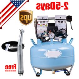 Medical Dental Air Compressor Noiseless Silent Oil-less Oil
