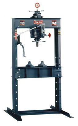 Dake 25H Model Hand Operated H-Frames Hydraulic Press, 25 To