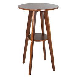 modern round plywood bar table