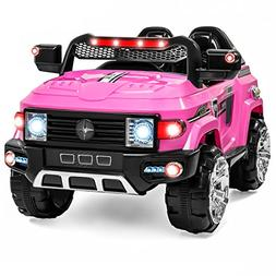 12V MP3 Kids Ride on Truck Car R/c Remote Control, LED Light