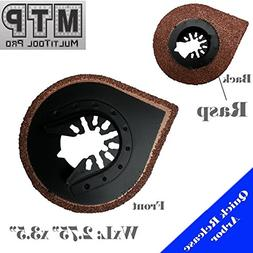 MTP TM Grout / Rasp Hybrid 2 in 1 Blade Quick Release Univer