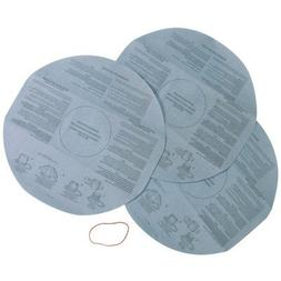 Multi-Fit Disposable Filter Bags, 3-Pack