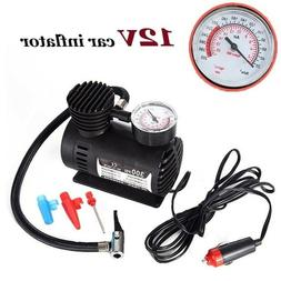 New 12V 300PSI Portable Air Compressor Pump Auto Car Electri