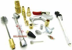 New 18 Pc Pneumatic Air Tool Accessory Blow Gun Set Air Comp