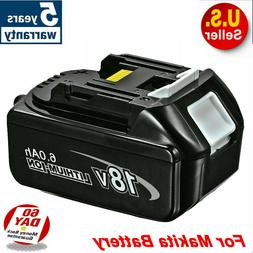 New 18V 6.0Ah 18Volt Lithium-Ion LXT-400 Battery For Makita