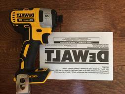 """New DeWalt 20 Volt 20v Max XR Brushless Cordless 1/4"""" Impact"""