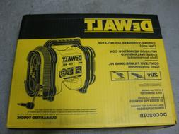 New! Dewalt 20V Max Lith-Ion Corded/Cordless Air Inflator TO